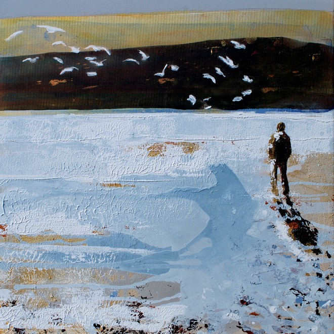 Gull Watching, Daymer Bay, Cornwall. £395