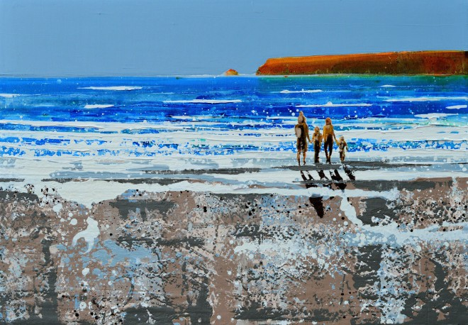 Memories of the beach, Polzeath. £1,395