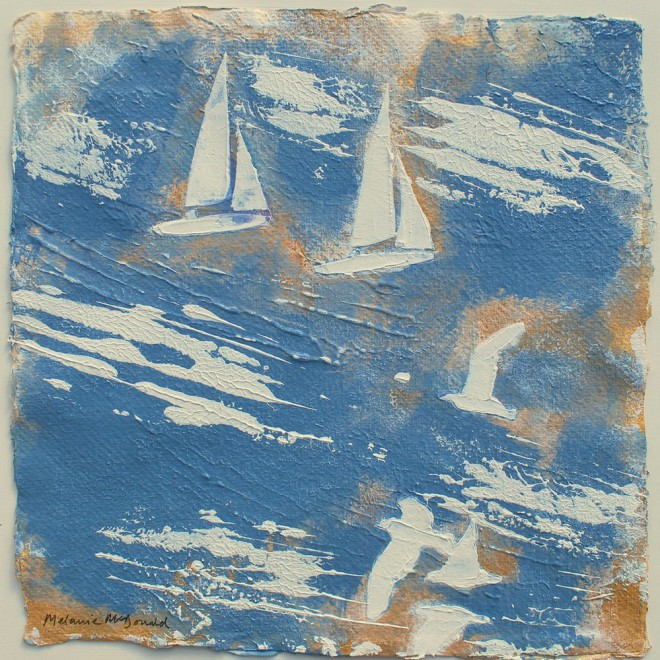 Gulls and boats, Bretagne £75