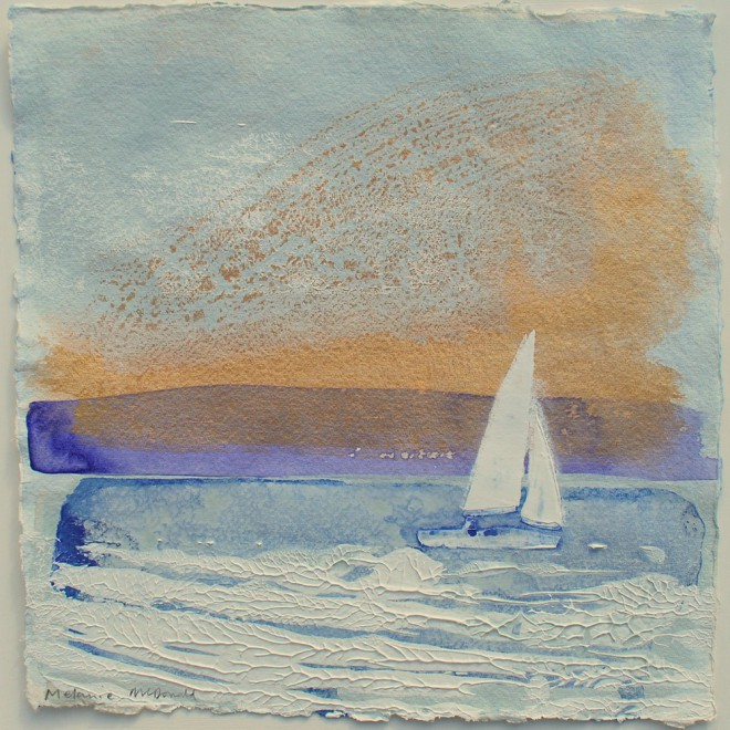 Morning Sail, Rock, Cornwall £75