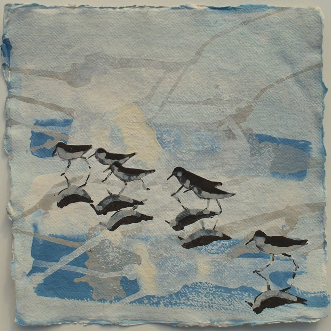 Sanderlings, Treyarnon Beach £75